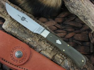 Great Eastern Cutlery Skinner with OD Canvas Micarta handles H233