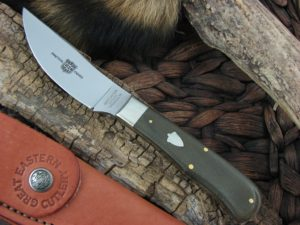 Great Eastern Cutlery Upland Hunter with OD Canvas Micarta handles H234