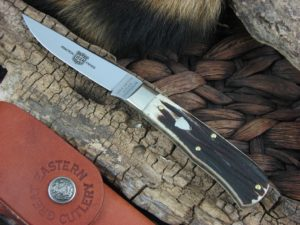 Great Eastern Cutlery Bird and Trout with Cougar Clawed Bone handles H731