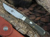 Great Eastern Cutlery Skinner with OD Canvas Micarta handles H733