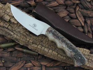Arno Bernard Knives Predator Sailfish with Kudu Bone handles