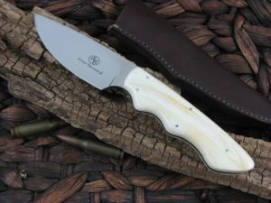 Arno Bernard Knives Predator Great White with Warthog Tusk handles