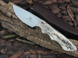 Arno Bernard Knives Predator Great White with Kudu Bone handles