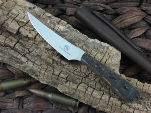 Arno Bernard Knives Bush Baby Porcupine with Crocodile Hide handles