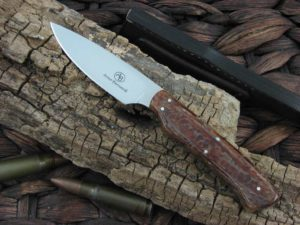 Arno Bernard Knives Bush Baby Galago with Kudu Bone handles