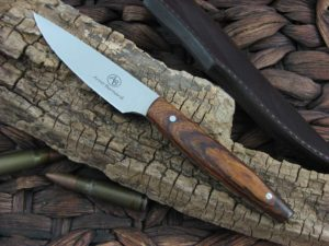 Arno Bernard Knives Pro Hunter Marabou with Ironwood handles