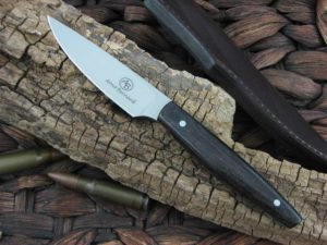 Arno Bernard Knives Pro Hunter Marabou with African Blackwood handles