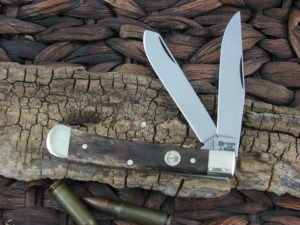 Boker Trapper Tree Brand Smooth Brown Bone