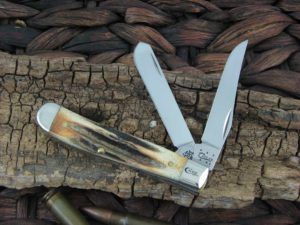 Case Knives Mini Trapper Premium Burnt Stag (CA12387)