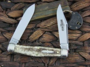 Great Eastern Cutlery Bull Moose Northfield Smooth Appaloosa Bone 811217