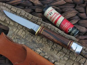 Hess Knives Bird and Trout with Cocobolo Wood handles