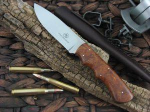 Arno Bernard Cutlery Cheetah Predator Ironwood handles N690 steel 2103