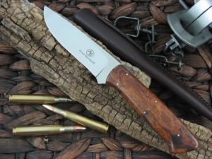 Arno Bernard Knives Predator Croc with Ironwood handles