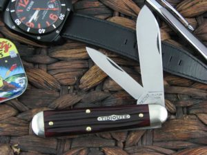 Great Eastern Cutlery Tidioute Jack with Elderberry Jigged Bone handles 782217