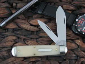 Great Eastern Cutlery Tidioute Jack with Smooth White Bone handles 782217