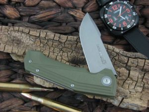 Viper Cutlery Larius with Green G10 handles V5960GG