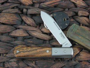 Lion Steel Roundhead Spear Jack Bocote Wood Handles M390 Steel CK0111