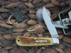Great Eastern Cutlery Tidioute Hunter with Frontier Bone handles 431118