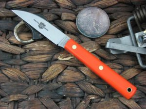 Great Eastern Cutlery Caping Hunter with Orange Delrin handles H200