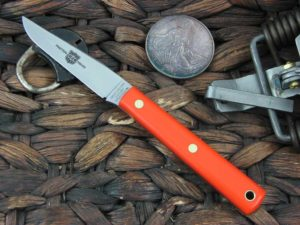 Great Eastern Cutlery Clip Hunter with Orange Delrin handles H208