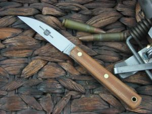 Great Eastern Cutlery Caping Hunter with Natural Canvas Micarta handles H200