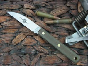 Great Eastern Cutlery Caping Hunter with OD Canvas Micarta handles H200