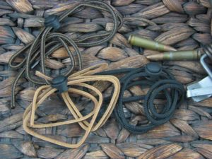 Lanyard Braid or Leather Strip