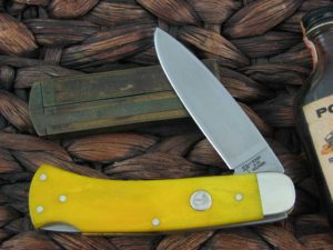 Boker Cutlery Boker Lockback with Smooth Yellow Bone handles 111000YB