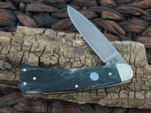 Boker Cutlery Boker Lockback with Green Bone handles 111000SGRBTX