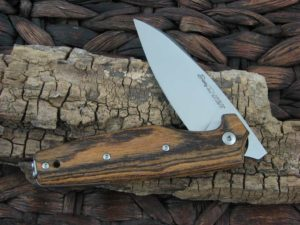 Viper Cutlery Dan2 with Bocote Wood handles V5930BC