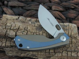 Viper Cutlery Lille with Bronze/Blue Titanium handles V5962BRBL