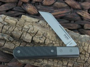 Lion Steel Sheepfoot Jack with Black Carbon Fiber handles CK0115