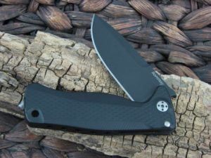 LionSteel SR-22 with Black Aluminum handles SR22ABB