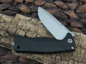 LionSteel SR-22 with Black Aluminum handles SR22ABS
