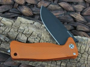 LionSteel SR-22 with Orange Aluminum handles SR22AOB