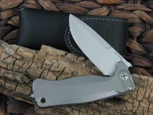 LionSteel SR22 with Grey Titanium handles SR22G