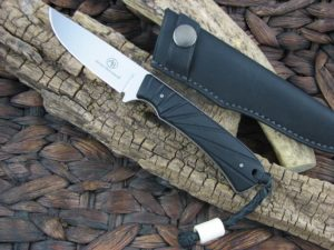 Arno Bernard Knives 2018 Series Badger with Black G10 handles