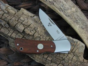 Fallkniven Tre Kronor with Desert Ironwood handles and 3G blade TK3IC