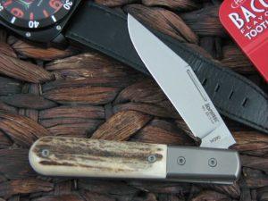 Lion Steel Shuffler Clip Jack Stag Handles M390 Steel CK0112