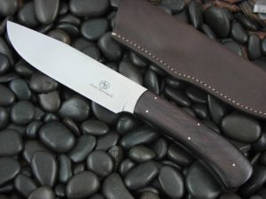 Arno Bernard Cutlery Elephant Giant Ebony Wood N690 Steel 1107