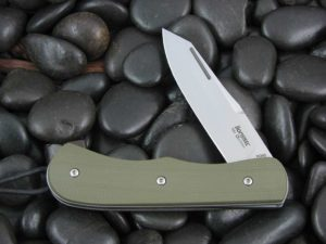 Lion Steel Spear Jack with OD Green G10 handles CK0213GR