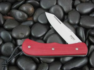 Lion Steel Spear Jack with Red Micarta handles CK0213MR