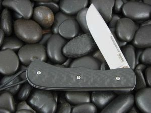 Lion Steel Drop Point Jack with Carbon Fiber handles CK0217CF