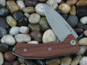 LionSteel KUR with Santos Wood handles KUR-ST
