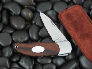 Moki Lockback with Ironwood handles MK205IE