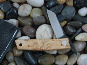 Hiroaki Ohta FK5P with Birch Wood handles