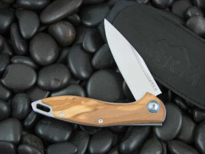 MKM Burnley Mercury Cutlery Fara with Olive Wood handles MKMY01O