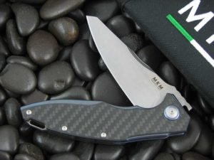 MKM Viper Burnley Raut with Carbon Fiber handles MKVP01CB