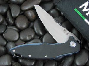 MKM Viper Burnley Raut with Black G10 handles MKVP01GBBK