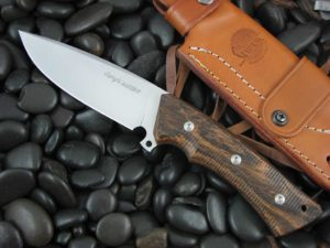 Viper Cutlery Gianghi with Bocote Wood handles